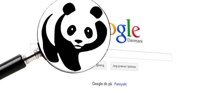 Google Panda sikker hjemmesider
