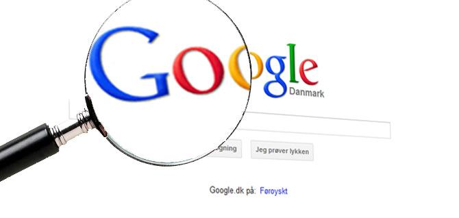 Google opdateringer og tabte placeringer